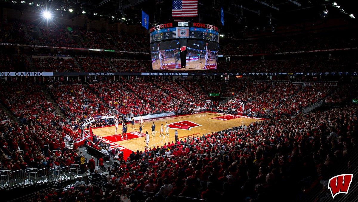 Wisconsin Basketball's photo on Kohl Center