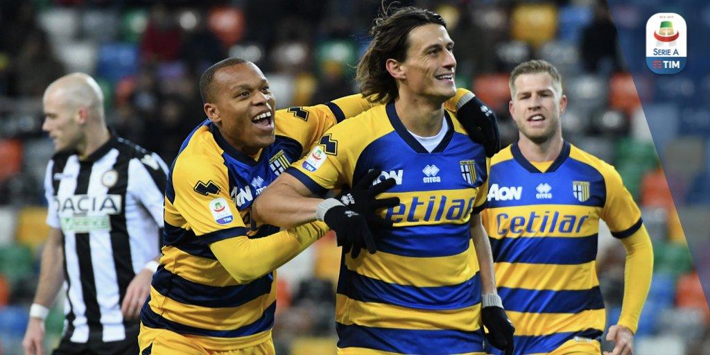 Triplice fischio alla Dacia Arena! Il Parma espugna il campo dell'Udinese!  Udinese 1️⃣ - 2️⃣ Parma  #UdineseParma #SerieATIM