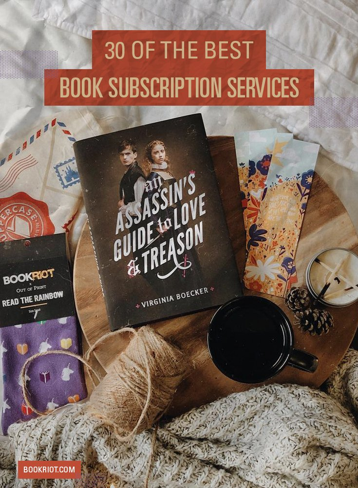 30 of the best book subscription boxes: bit.ly/2RwVMzC
