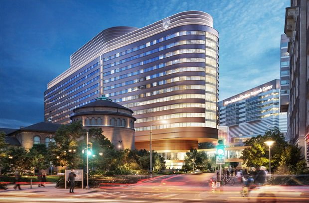 test Twitter Media - The @PennMedicine Pavilion will house 500 private patient rooms and 47 operating rooms in a 1.5M sq ft, 17-story facility across from the Hospital of University of Pennsylvania and adjacent to the Perelman Center for Advanced Medicine https://t.co/BBWG1QJW5n #penn #philly https://t.co/ngDYFyR4i9