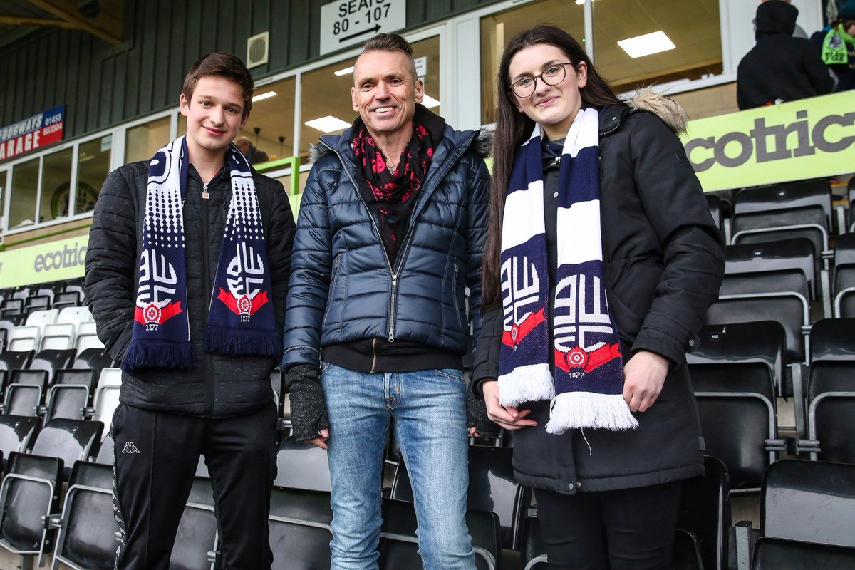Welcome to the Bolton Wanderers fans who've joined us today.