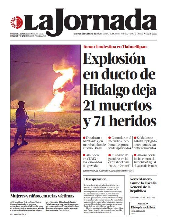 La Jornada's photo on #explosion