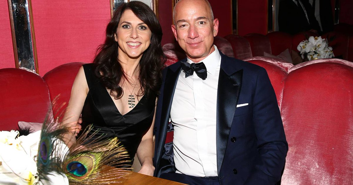 Meet MacKenzie Bezos, the woman about to become one of the richest in the world:  https://t.co/Yr3LQZn6p0