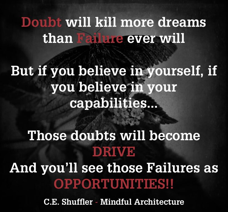Believe you CAN and you WILL Believe you CAN'T and you WON'T! #motivation #mindset #mindfulness #inspiration #perspective #value #goals #dream #dreams #newbeginnings #rebuildstrength #rebuildlife #reality #realitycheck #doshit #life #lifequotes #originalcontent #fortitude #succes