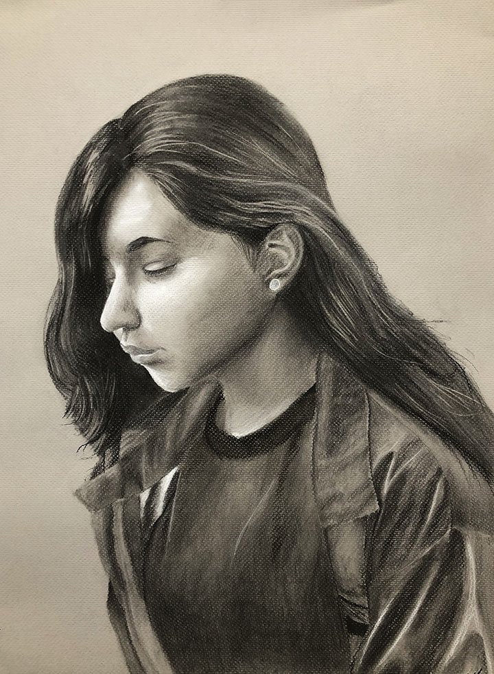 The art department congratulates Esmeralda Herrera for her silver medal at this years Scholastic Art and Writing #EdgewoodProud #scholasticartandwriting