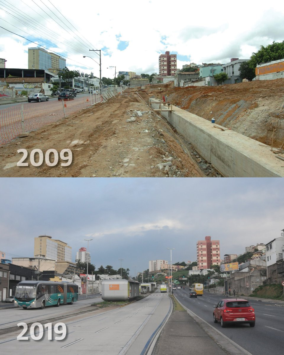 #10yearschallenge de BH: fotos comparam a cidade em 2009 e em 2019 https://t.co/cZ2uzGkNNJ