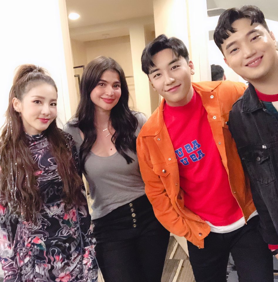 Grabe ang saya ng #thegreatseungritour in #manila 🔥🔥🔥 Thank you @ForvictoRi congrats for the successful show!!! And thank you @annecurtissmith &  for@ryanbang coming and supporting us!!! We love you!!! 💕💕💕