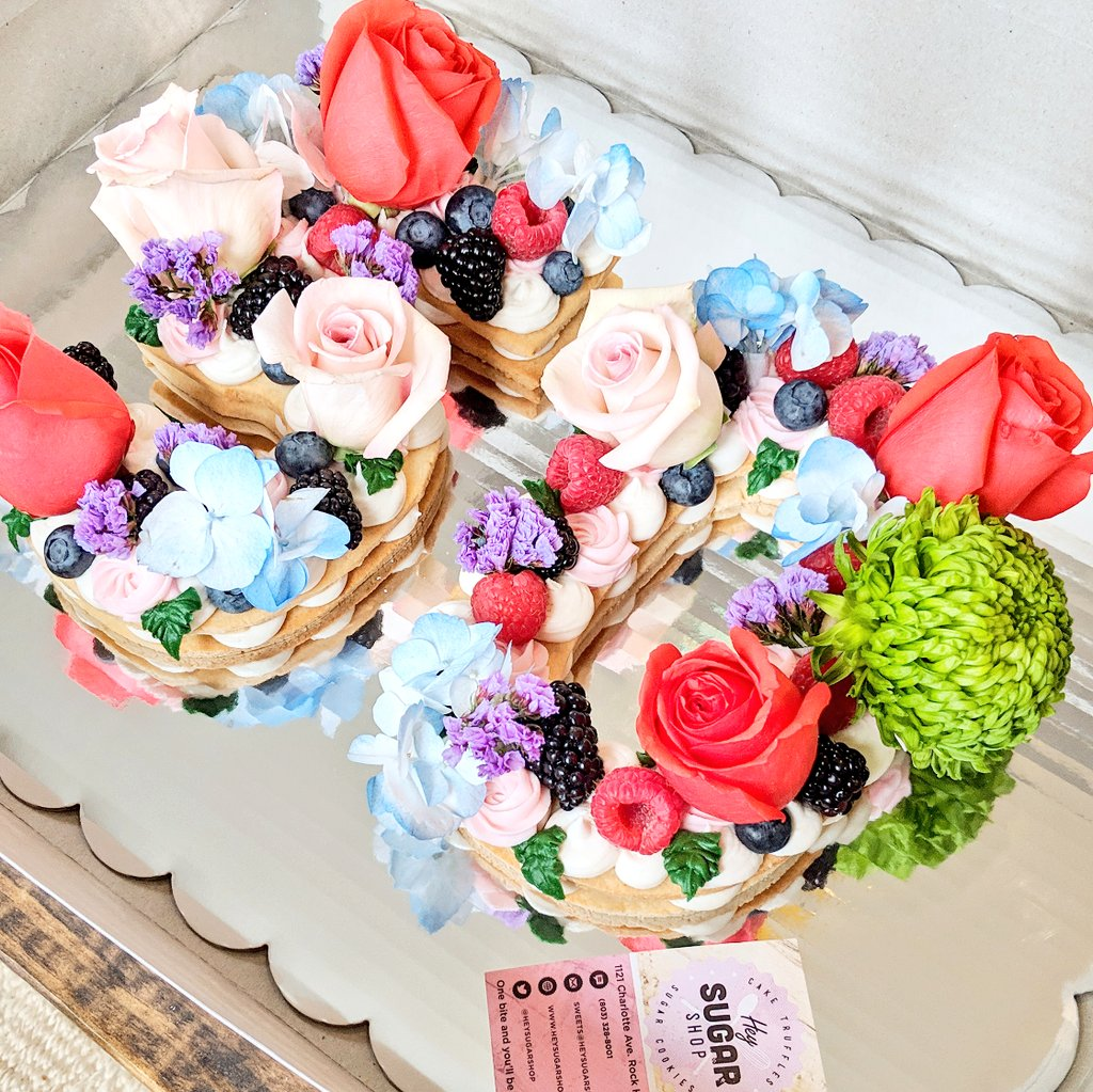 Super Hey Sugar Shop On Twitter Custom Fruit Floral Cookie Cake Funny Birthday Cards Online Sheoxdamsfinfo