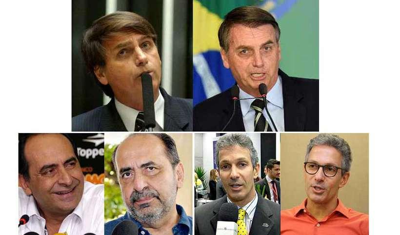 Bolsonaro, Kalil e Zema: o #10yearschallenge dos políticos https://t.co/eCSfR5PeWS