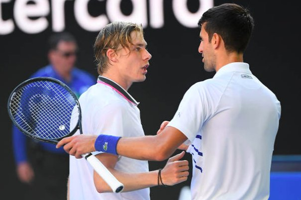 .@DjokerNole shows Shapovalov that he's not ready for the big stage quite yet: tnns.co/KSKYSn #AusOpen