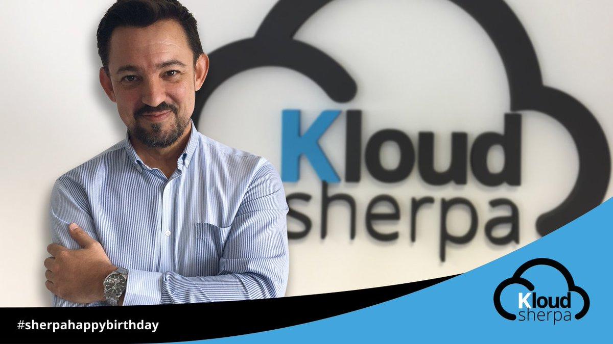 Hoy queremos felicitar a nuestro querido #Sherpa 👉 Jorge Riera por su cumpleaños 🎉🎉🎉  Muchas felicidades y el lunes te esperamos para darte un gran abrazo de cumpleaños 🎈  #subeconsherpas #sherpahappybirthday #KloudSherpa #Cloud