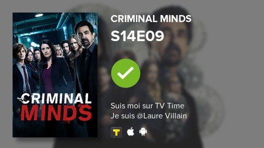 I've just watched episode S14E09 of Criminal Minds! #criminalminds  #tvtime https://tvtime.com/r/SWXm