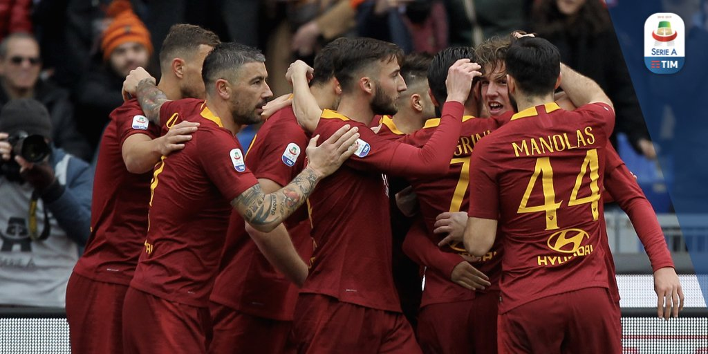 Triplice fischio all'Olimpico! La Roma batte il Torino!  Roma 3️⃣ - 2️⃣ Torino  #RomaTorino #SerieATIM