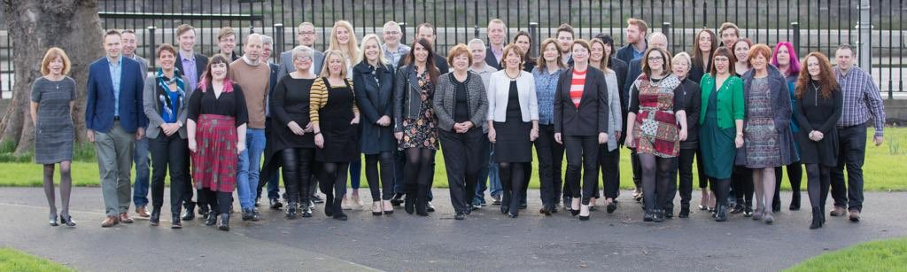 Look at this amazing group! Great to meet so many of our new #LE19 candidates today, fantastic energy and ideas from everyone. #SocDems