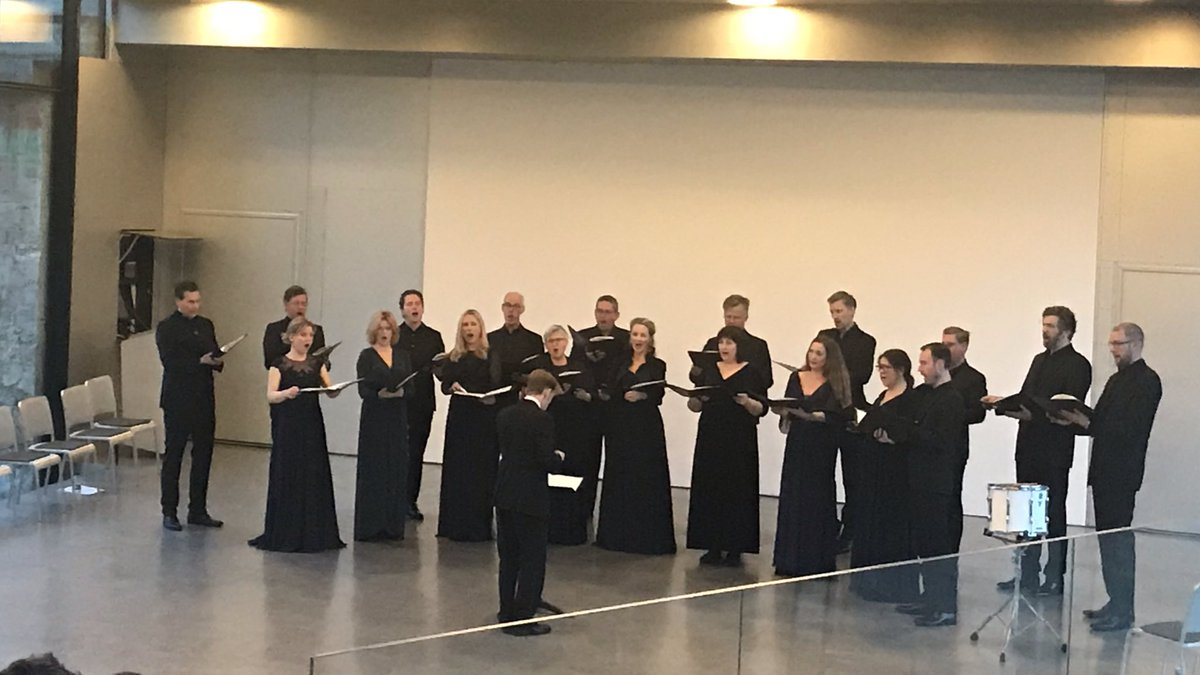 Lights over Europe - DR Vokalensemplet sang for us: Beautiful and so sad in Polish, Hungarian, Czech, German, French and Finnish tp mark the 100 years after the Great War. At Museet for Søfart.