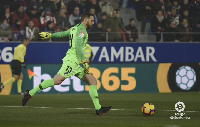 ¡DIEZ porterías a cero de Oblak en #LaLigaSantander! ⛔ Rayo Vallecano ⛔ Getafe CF ⛔ SD Huesca ⛔ Real Madrid ⛔ Real Betis ⛔ Real Sociedad ⛔ D Alavés ⛔ RCD Espanyol ⛔ Levante UD ⛔ SD Huesca Foto