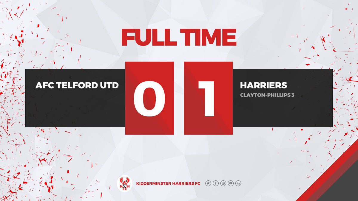 Harriers see out the three points with a superb, resolute defensive performance.