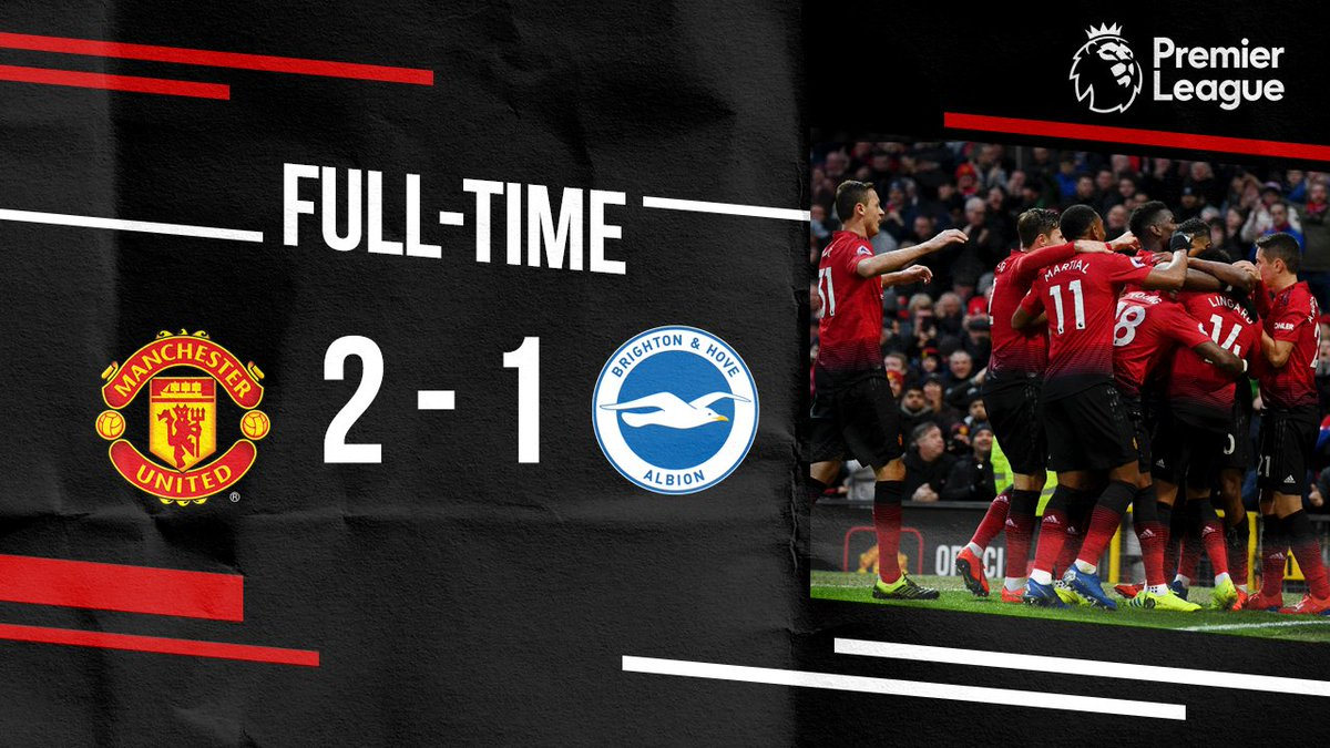 Seventh consecutive win! 🙌 #MUFC #MUNBHA