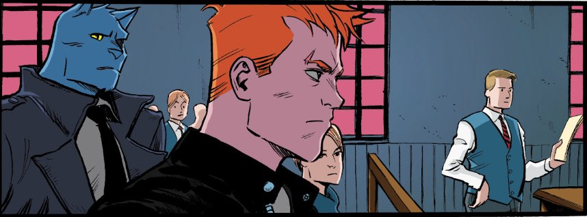 Happy birthday to SPENCER & LOCKE colorist @Jasen_Smith! Be sure to check out all his eye-catching work in SPENCER & LOCKE 2, available for preorder starting in February! #comics #art #noir #crime #cats #comicbook #comicbooks #graphicnovel