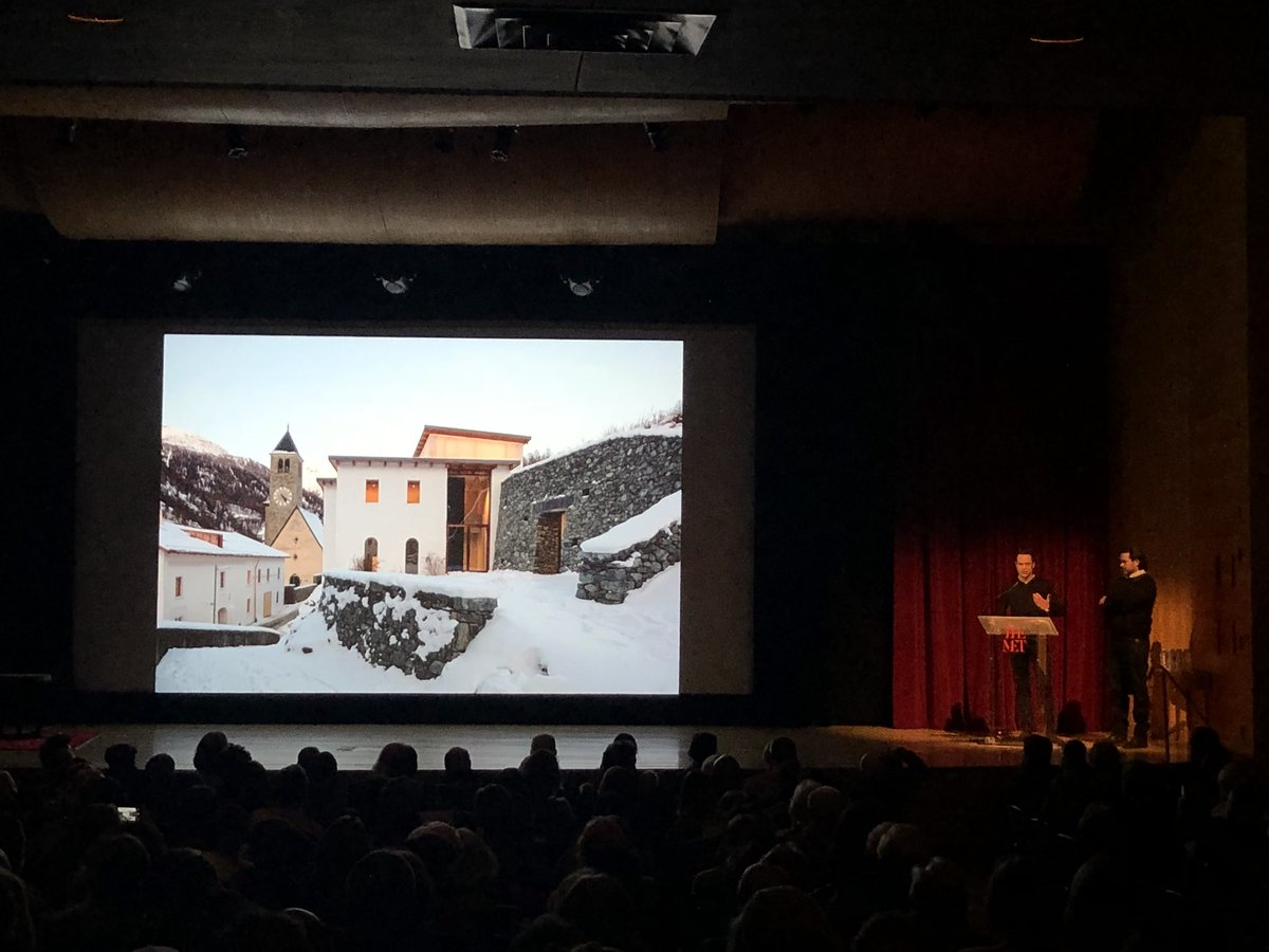 Architects Chasper Schmidlin and Lukas Voellmy discuss the Muzeum Susch, opening in early 2019 on the site of a former brewery and monastery buried into the side of a mountain in the Swiss Alps.