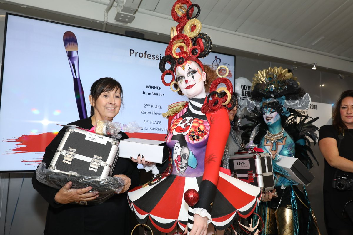 """""""If anyone were to ask me... do you think I should go... I'd say 'what are you waiting for!'"""" says June Waller, Professional Winner of Brush Wars 2018! Go to https://buff.ly/2JoAmAV and register before 22.04.19 to save 20%! #makeup #bodypaint #mua #makeupartist"""