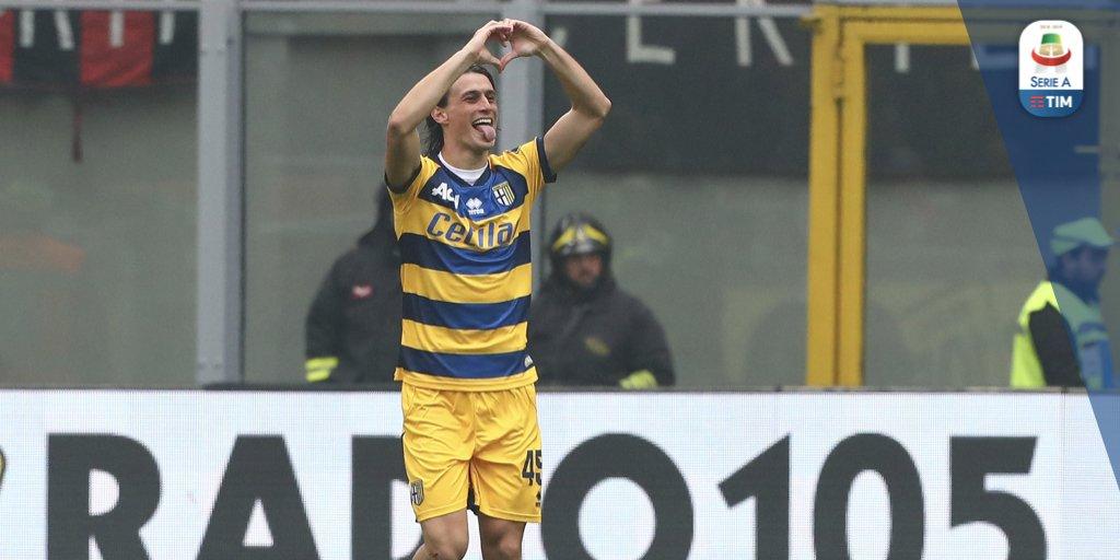 Vantaggio Parma! La sblocca Inglese da calcio di rigore!  Udinese 0️⃣ - 1️⃣ Parma  #UdineseParma #SerieATIM