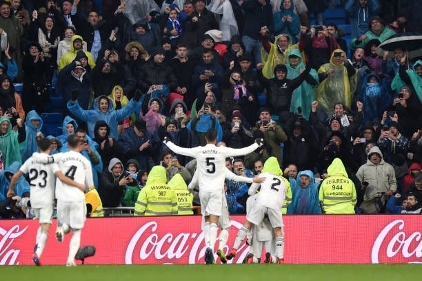 أهداف فوز ريال مدريد على إشبيلية