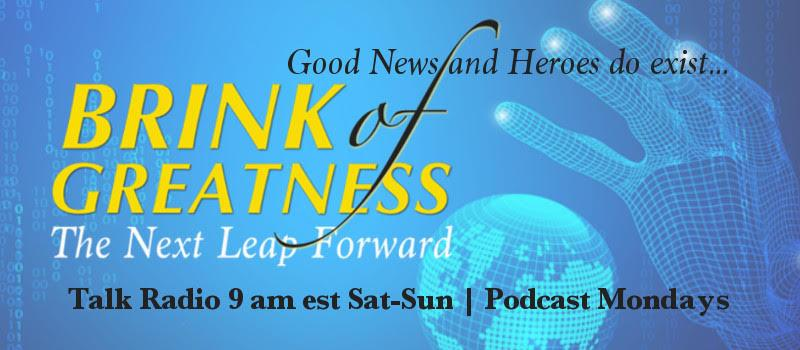 I've tried to provide positive & inspirational tweets to you every day. I appreciate your comments, retweets & likes. It gives me hope that I'm making a difference.   If you like my tweets, please give my podcasts a chance. Checkout https://brinkofgreatness.com/ . What do you think?