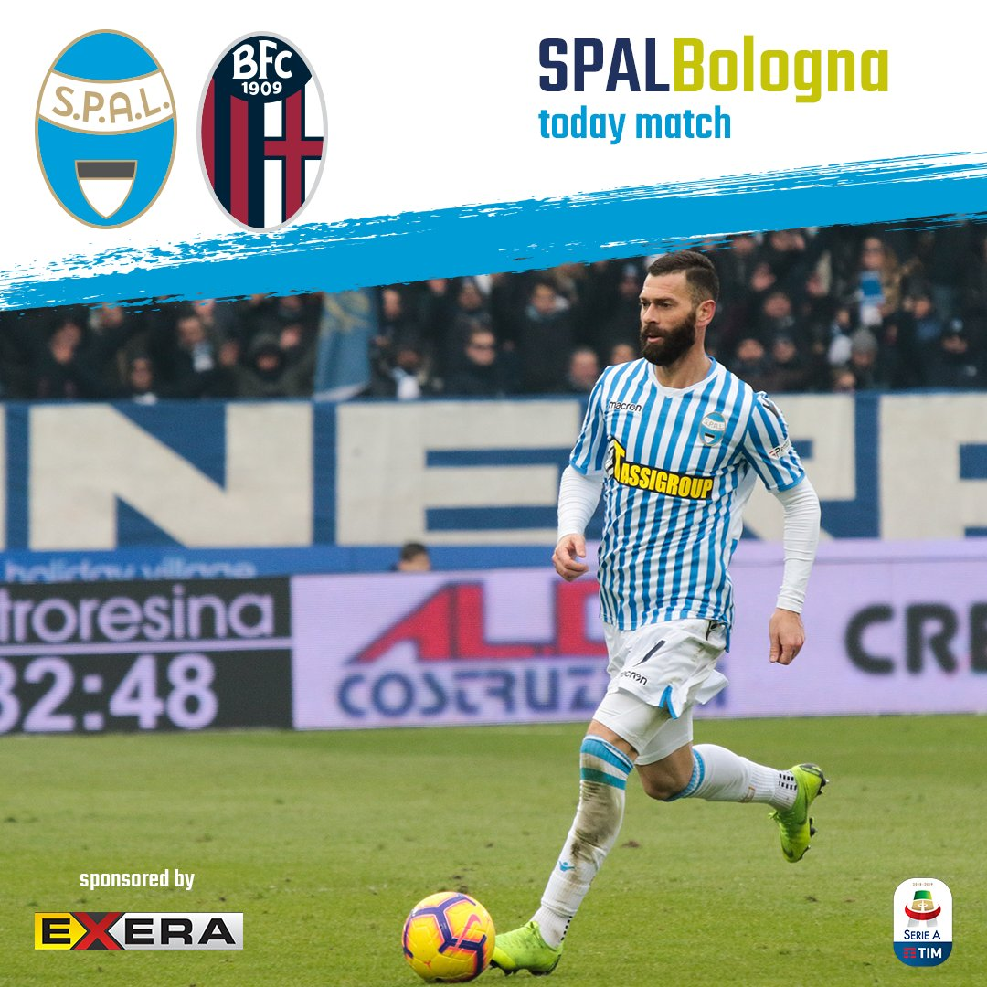 """#TodayisDerbyDay  #SPALBologna Ore 15 - Stadio """"Paolo Mazza"""" di Ferrara  #ForzaSPAL"""