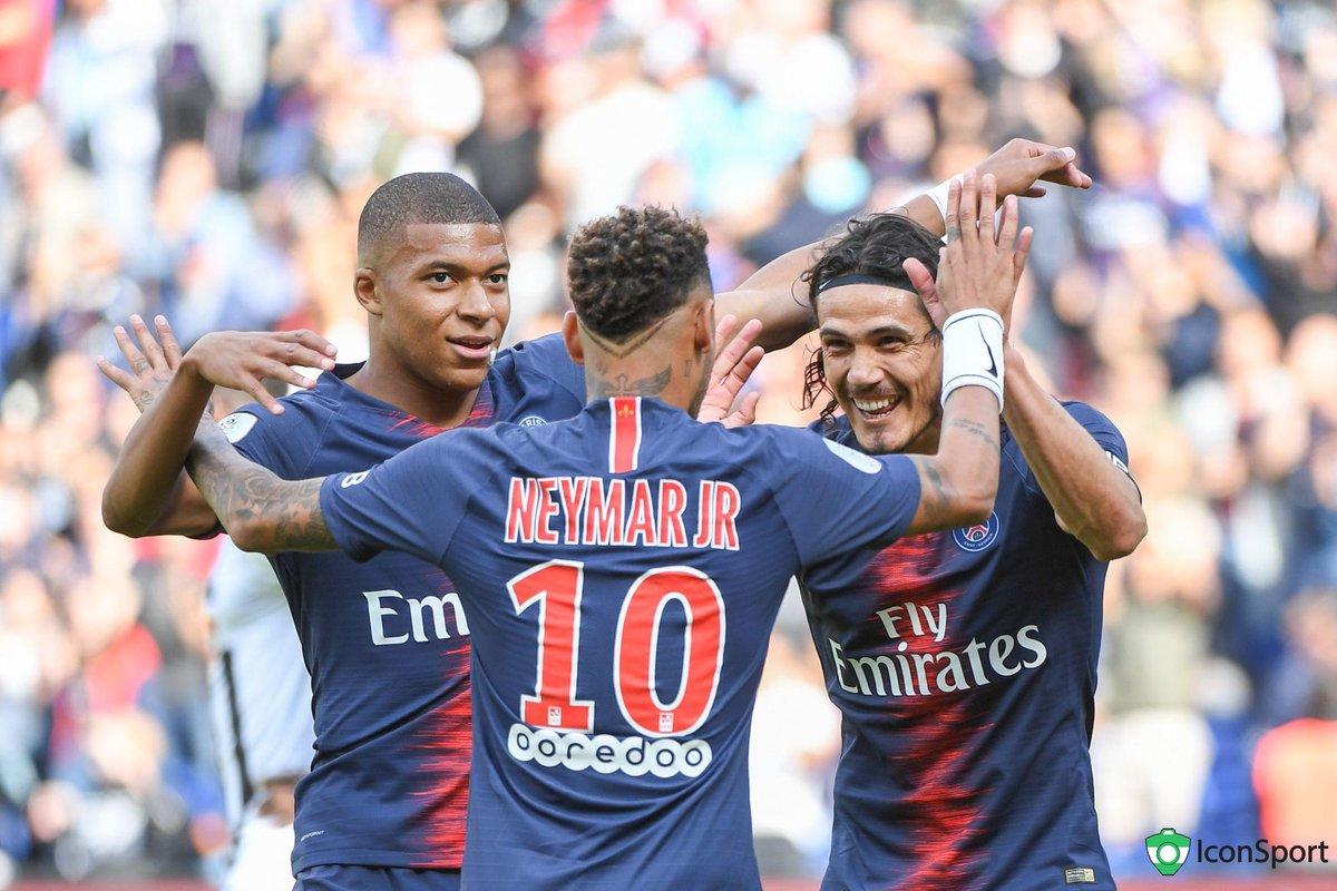 La MCN en 🔥 face à Guingamp !  ⚽️⚽️ Mbappé ⚽️⚽️ Cavani ⚽️⚽️ Neymar
