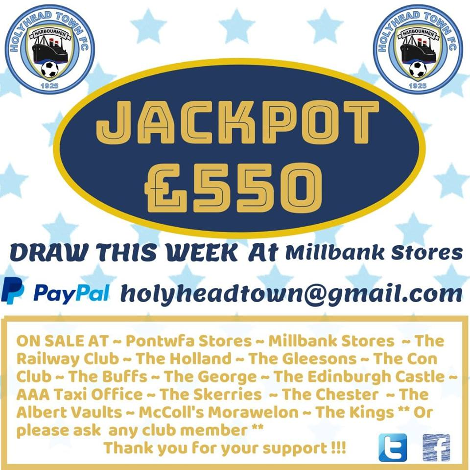 Fancy winning £550? Have a go at the HTFC letter lottery. It's simple, pick 3 letters for the chance to win. Only £1 a go. See poster for information on sellers. #ThankYouForYourContinuedSupport