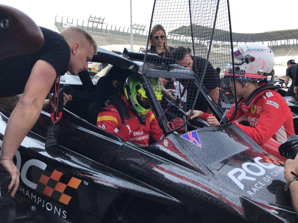 Sebastian vettel race of champions 2019
