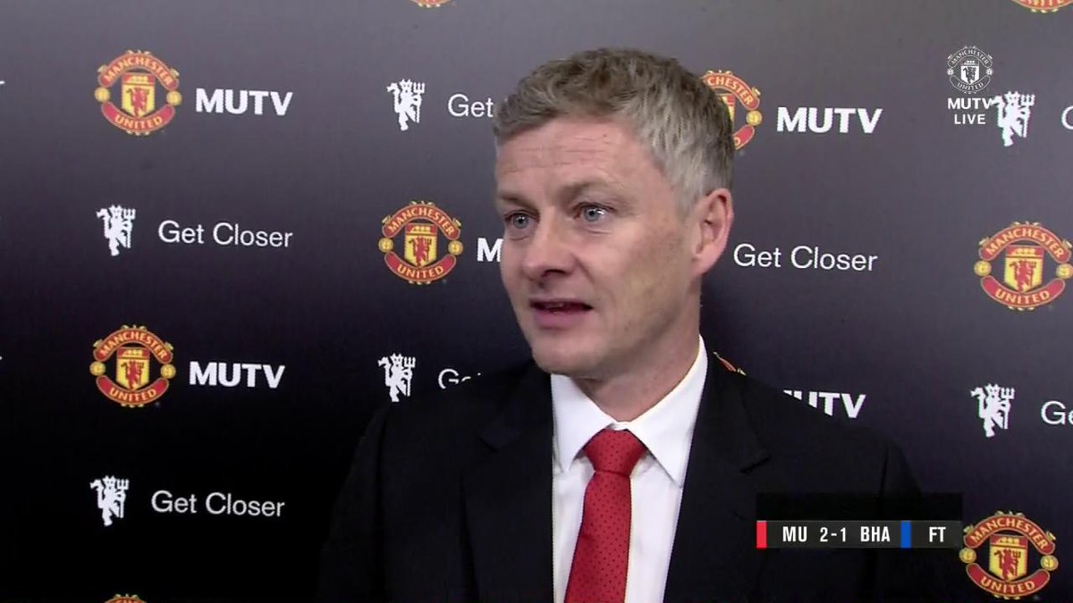 Ole Gunnar Solskjaer discusses today's hard-fought victory for #MUFC...