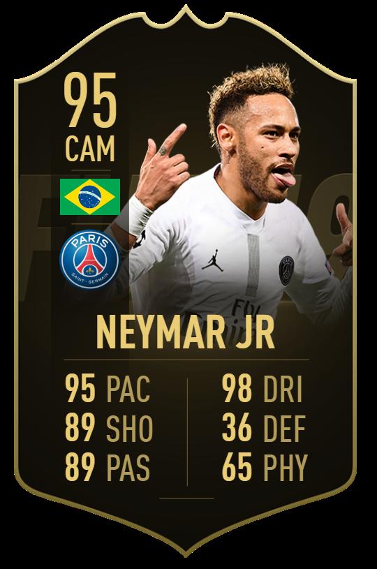 #TOTW19 😅 Neymar ? 2 Goals + 1 Assist (9-0)  Mbappé ? 3 Goals + 1 Assist (9-0) Cavani ? 3 Goals + 3 Assists (9-0) Jota ? 3 Goals (4-3)