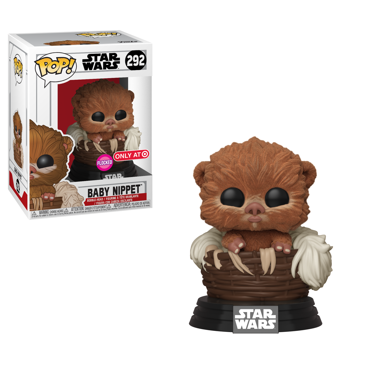 RT & follow @OriginalFunko for the chance to win a @Target exclusive FLOCKED Baby Nippet Pop!