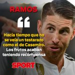 Sergio Ramos Twitter Photo
