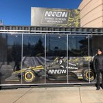 It's a double-header today with @avalanche & @nuggets playing home games at the Pepsi Center in Denver. Arrow is proud to be the title sponsor for both games and support these beloved Colo. teams. New Arrow SPM driver @ericsson_marcus will be there, so will his car. #ArrowDriven