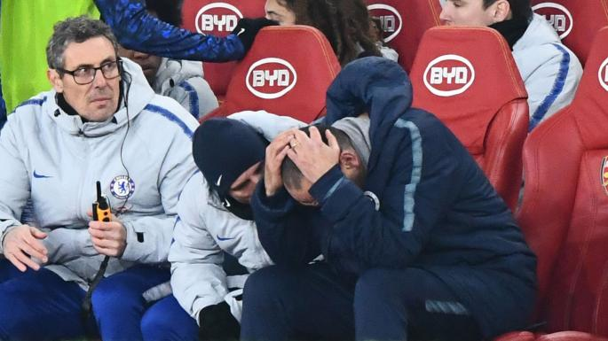 Maurizio Sarri shames 'weak' Chelsea stars after Arsenal defeat @ChelseaFC @Arsenal #ARSCHE  https://t.co/1R5FbBmRLF
