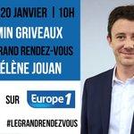 Image for the Tweet beginning: 🎙Rendez-vous demain à 10h sur