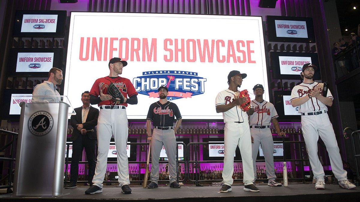 Braves unveil uniforms, talk 2019 season at Chop Fest PHOTOS: 2wsb.tv/2RAsiVw