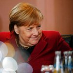 Image for the Tweet beginning: Merkel eyes closer cooperation in