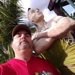 Image for the Tweet beginning: With the Chief @SawgrassRecPark   #geocaching