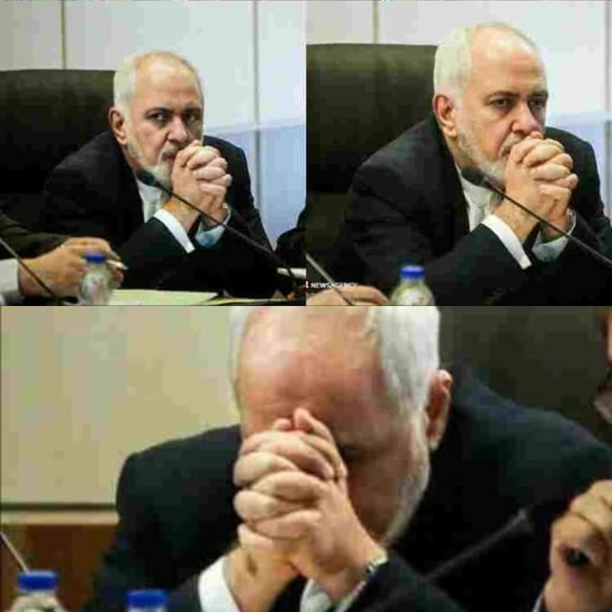 Hey @JZarif, I am so happy  you're not smiling anymore! You can't fool the world anymore!   #WeSupportPolandSummit