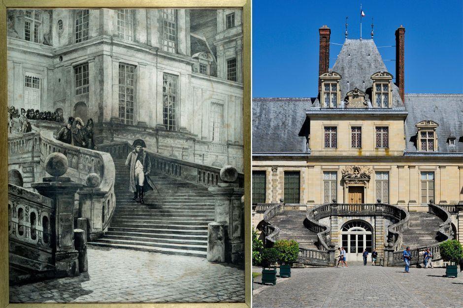 L'escalier des adieux de Napoléon au château de Fontainebleau bientôt restauré https://www.parismatch.com/Royal-Blog/royaute-francaise/L-escalier-des-adieux-de-Napoleon-au-chateau-de-Fontainebleau-bientot-restaure-1600538#utm_term=Autofeed&utm_medium=Social&xtor=CS2-14&utm_source=Twitter&Echobox=1547926576…