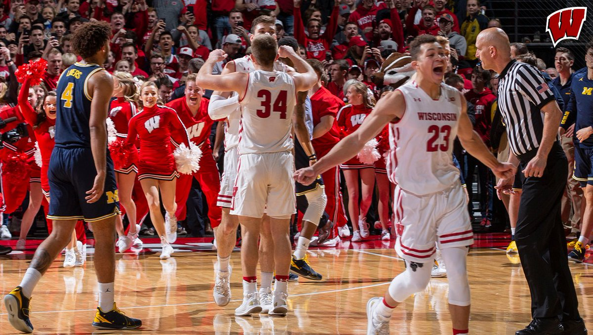Wisconsin Basketball's photo on Ethan Happ