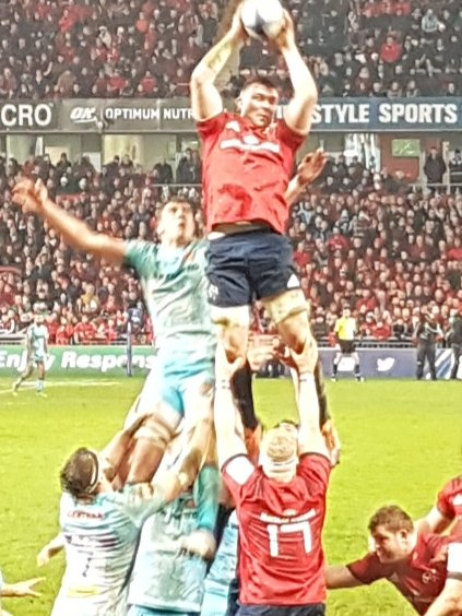 Liam Walsh's photo on Munster
