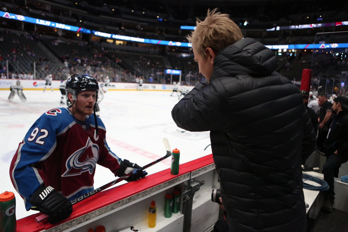 Yeah!! Let's go Avs @Avalanche