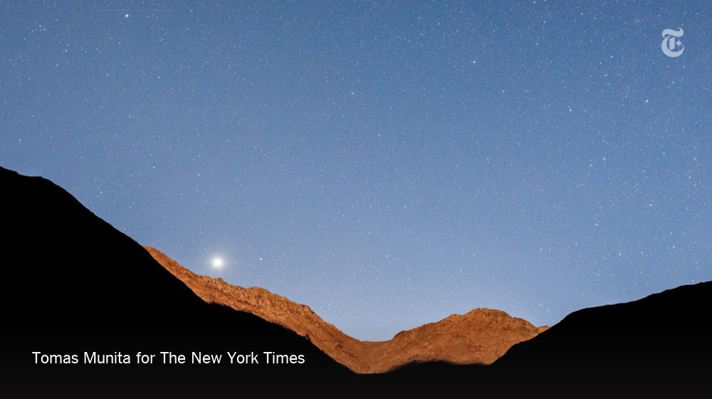 52 Places to Go in 2019, No. 51: The Elqui Valley, Chile. Eclipse mania, and nights of dark skies. https://nyti.ms/2FBsf4t