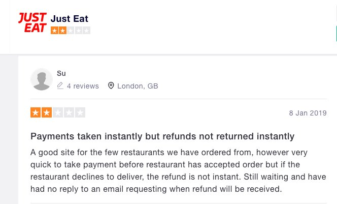 Pronto Eat On Twitter We Will Process All Refunds Pronto