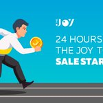 Image for the Tweet beginning: The Joy Token Sale starts